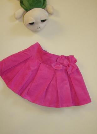 Пышная вельветовая юбка early days by primark 2-3 года