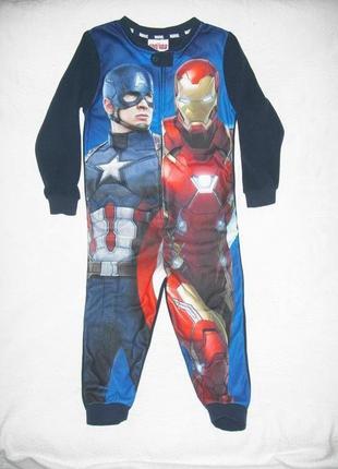 "Пижама кигуруми слип человечек домашний костюм ""capitain america"""