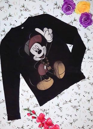 Акция 1+1=3 стильный свитер свитшот с микки-маусом, размер 46 - 48