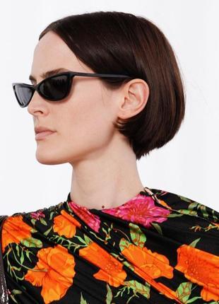 Узкие солнцезащитные очки. ретро очки. сонцезахисні окуляри