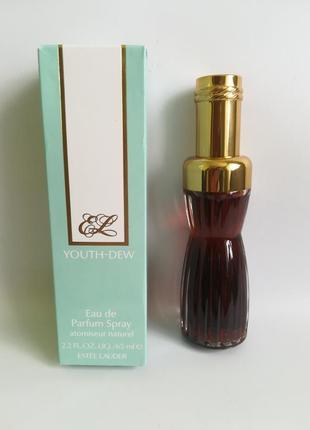 Eau de parfum estee lauder youth-dew оригинал!!! винтаж!!!
