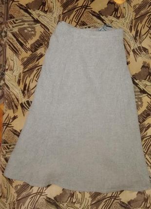 Шерстяной костюм юбка пиджак