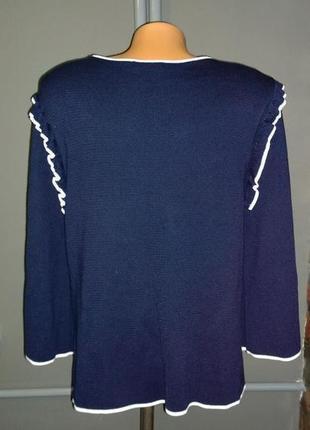 Распродажа зимней коллекции! блуза джемпер кофточка с оборками marks & spencer3 фото