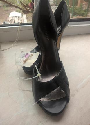 Кожаные классические туфли nine west. 38 размер, новые1 фото