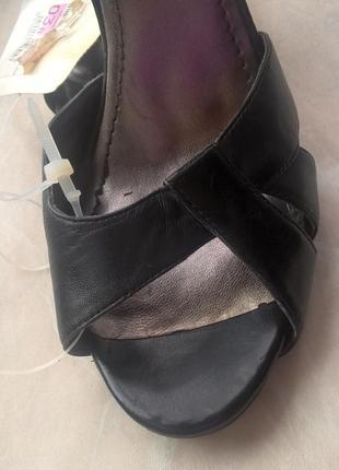Кожаные классические туфли nine west. 38 размер, новые5 фото