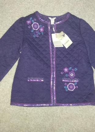 Стёганая курточка пиджак