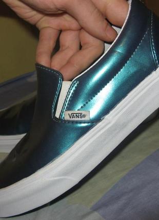 Кеды кроссовки vans оригинал размер 37 по стельке 24 см новые без дефектов