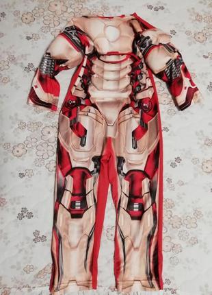 Карнавальный новогодний костюм железного человека 3-5лет