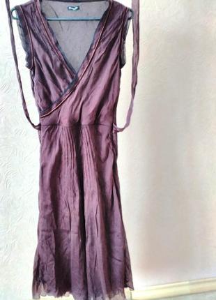 Нарядное платье, цвет шоколад