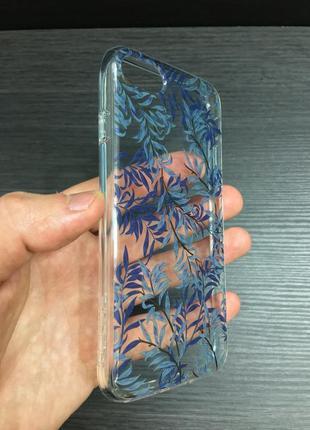Женский стильный противоударный чехол для iphone 7 8 incipio blue willow design series2