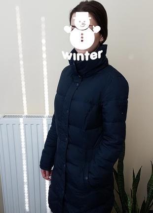 Пуховик пальто tommy hilfiger