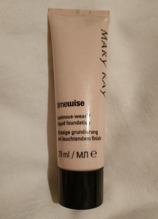 Тimewise liquid foundation основа под макияж для нормальной и сухой кожи