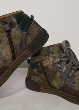 Демисезонные кожаные ботинки lupi3 фото