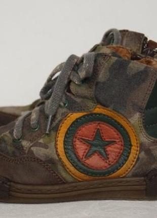 Демисезонные кожаные ботинки lupi4 фото