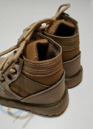 Новинка 2019 ботинки деми весна мальчику, девочке 21-30 размер тимберленды3