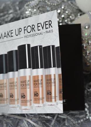 Пробник тонального крема make up for ever ultra hd
