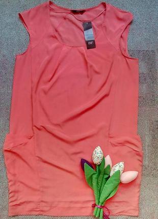 Стильное платье-туника f&f.