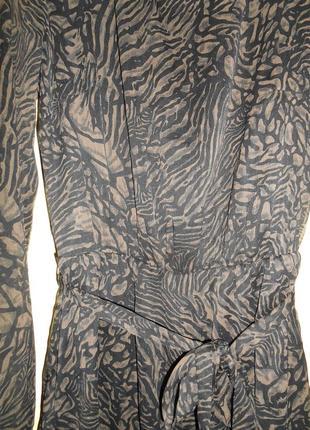 Элегантное леопардовое платье vero moda