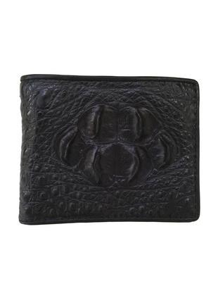 Кошелек портмоне бумажник из натуральной кожи крокодила