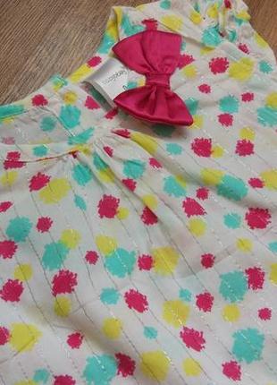 Big sale! легенькое платье туника babyberry на 6-12 месяцев и дольше3 фото