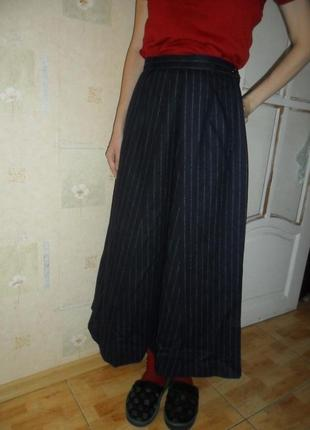 Шикарная шерстяная юбка