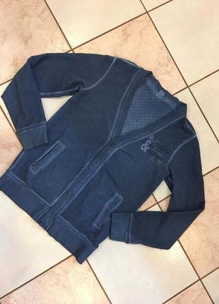 Кофта джинсовая котон