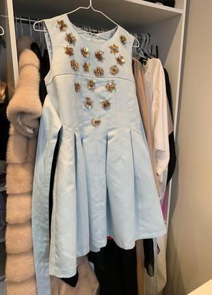 Невероятное пышное платье от miu miu