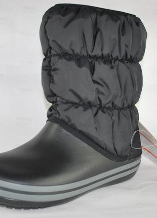 Сапоги крокс womens winter puff boot , оригинал