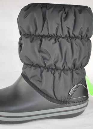 Сапоги крокс womens winter puff boot , оригинал2