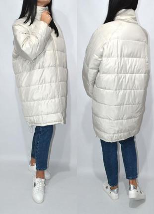 Стильная объемная куртка одеяло оверсайз от h&m .