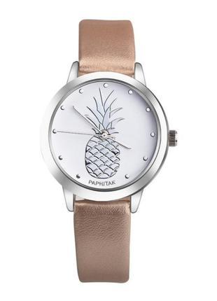 Часы ананас