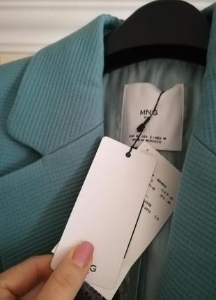 Пиджак  mango новый, размер м2 фото