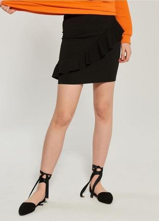 17-26 мини-юбка женская sinsay