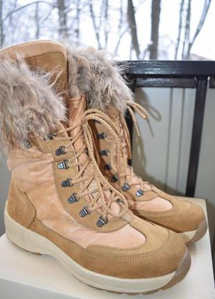 Зимние мембранные ботинки сапоги gar tex р.39 25,5