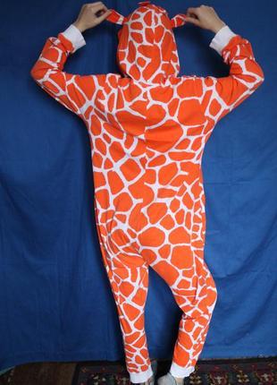 ... Пижама кигуруми из облегчённого котона жирафа bec1ac90f3c5f