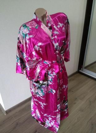 Халат халатик домашняя одежда размер м-л 10-12