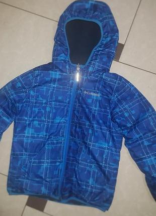 ❤️распродажа до 20.06❤оригинал, зимняя куртка columbia - очень теплая - р-р хс - 6-7 лет