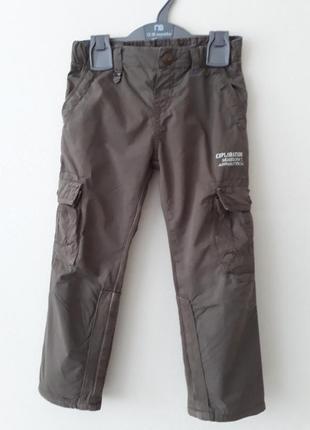 Мальчиковые штаны утепленные на 4 года,chicco