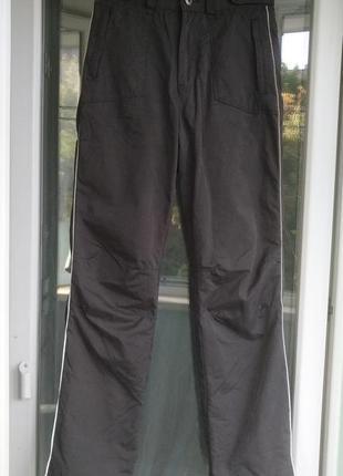 Термо-брюки here&there р.158 штаны мальчику 12-13л, демисезонные