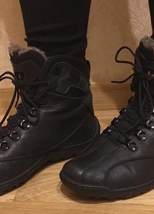cca6a2b35274 Кожаные ботинки adidas flex ботиночки натуральные зимние сапоги кроссовки