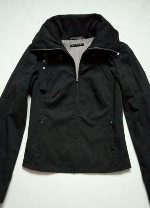 Пиджак sisley короткий с горлом
