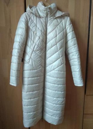 Зимове пальто-пуховик nui-very 44 розміру