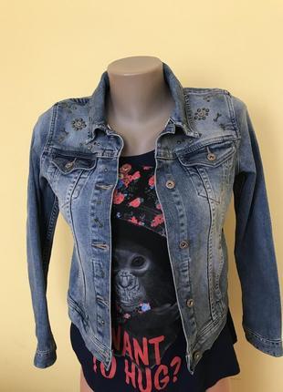 Фирменная джинсовая куртка scotch r'belle 152