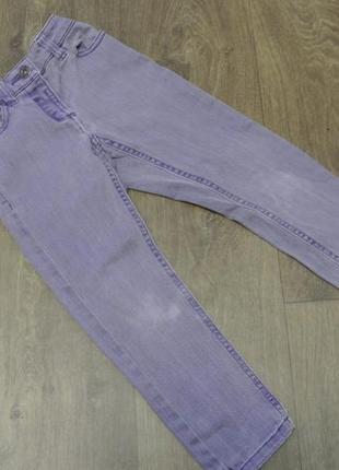 Крутые детские сиреневые джинсы next