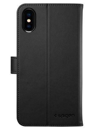 Флип чехол книжка spigen wallet s для iphone x xs4