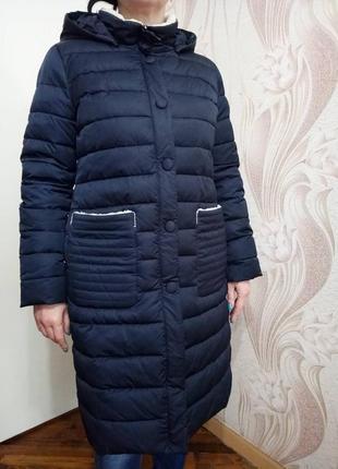 Стильный зимний пуховик