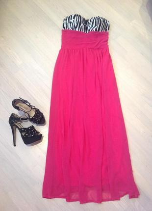Шикарное шифоновое платье/выпускное платье или для другого мероприятия