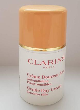 Дневной смягчающий крем clarins gentle day cream - оригинал