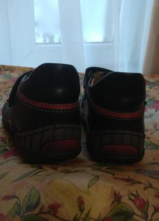 Кожаные ботинки2 фото