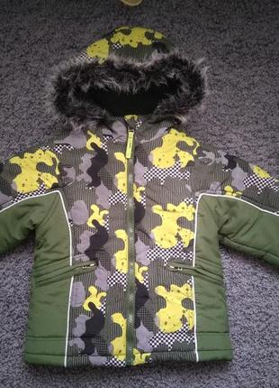 Made in poland.куртка євро зима